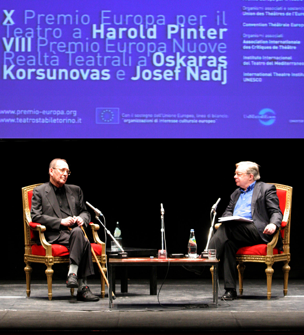 Michael Billinton intervista Arold Pinter