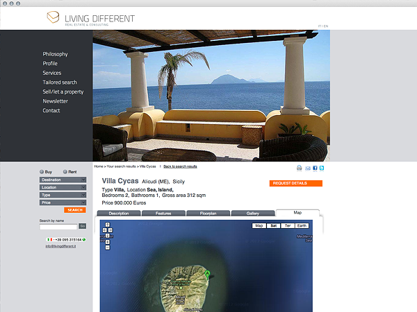 Sito web living different